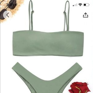ZAFUL high cut cami bikini set